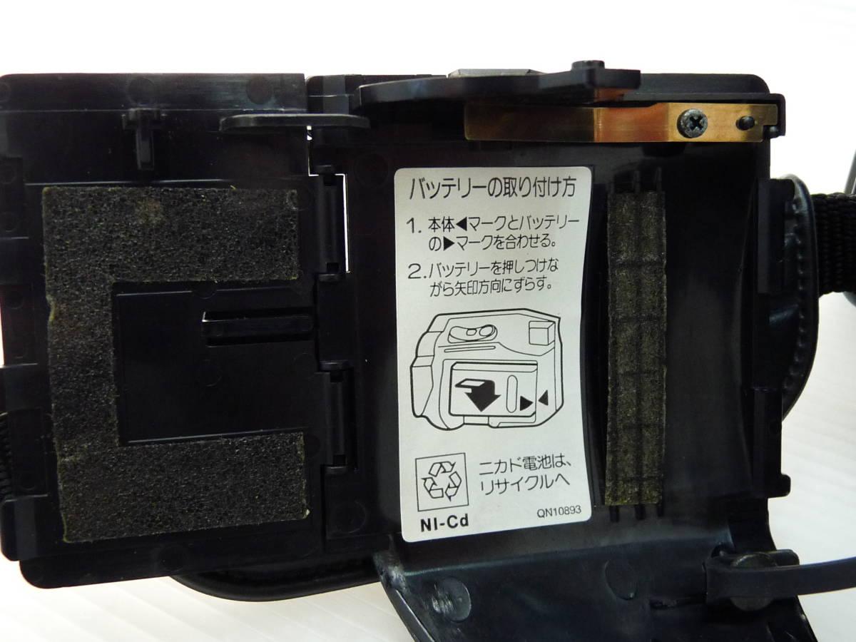 [HITACHI] 日立 8ミリビデオカメラ VM-E310 中古品_画像5