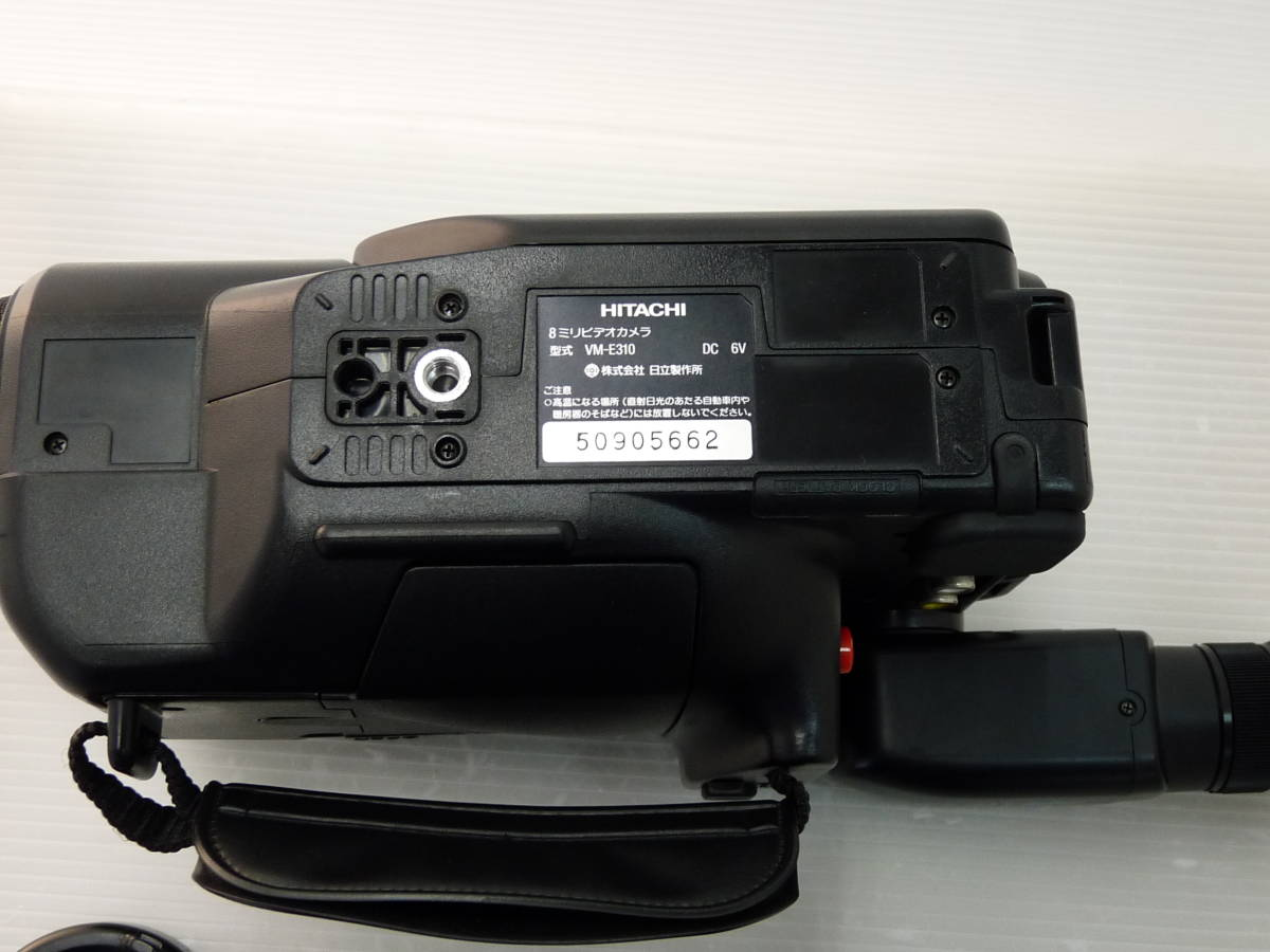 [HITACHI] 日立 8ミリビデオカメラ VM-E310 中古品_画像10