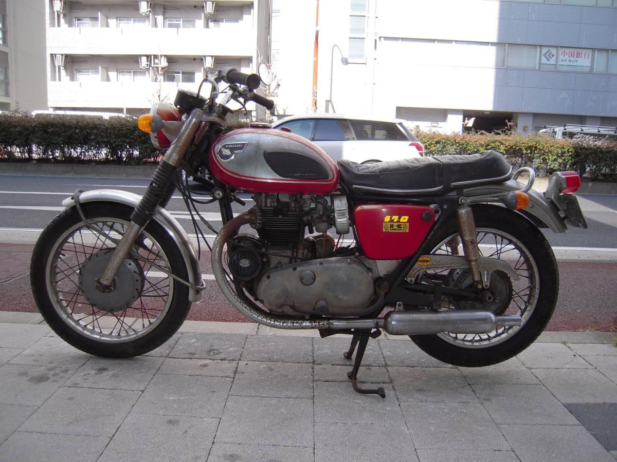 カワサキ W1S後期型 W1SA W3 メグロ