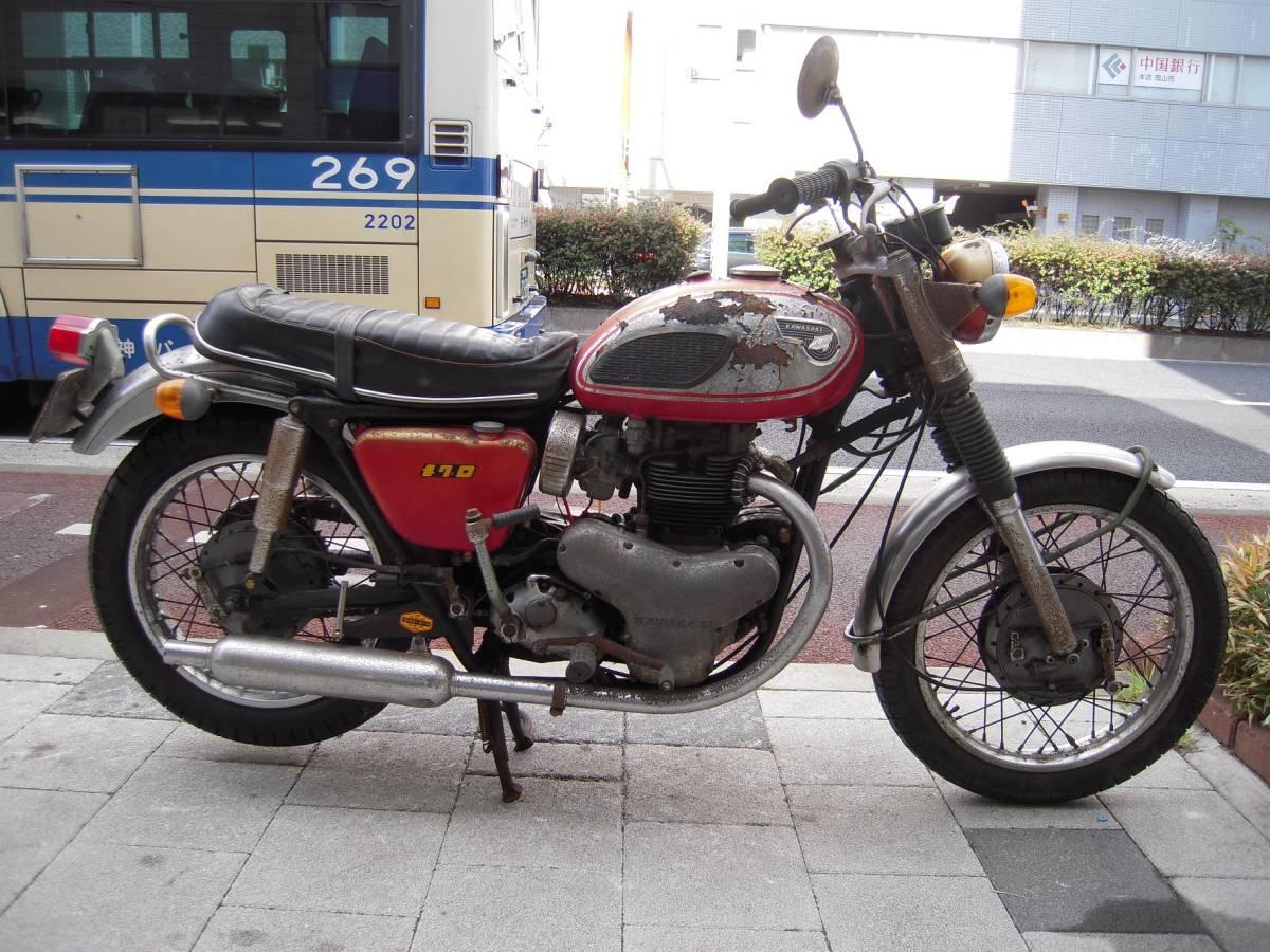 カワサキ W1S後期型 W1SA W3 メグロ _画像4