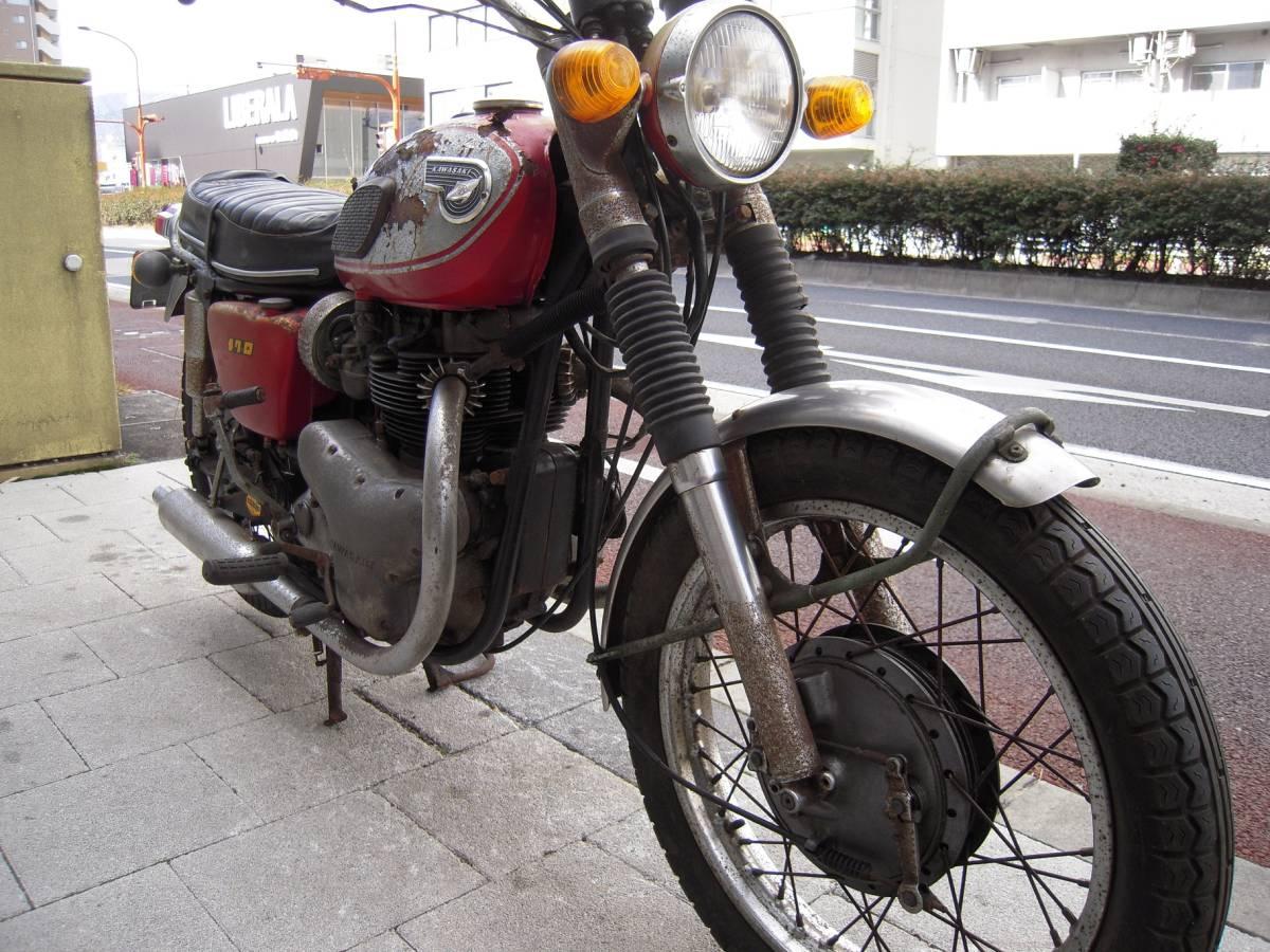 カワサキ W1S後期型 W1SA W3 メグロ _画像5