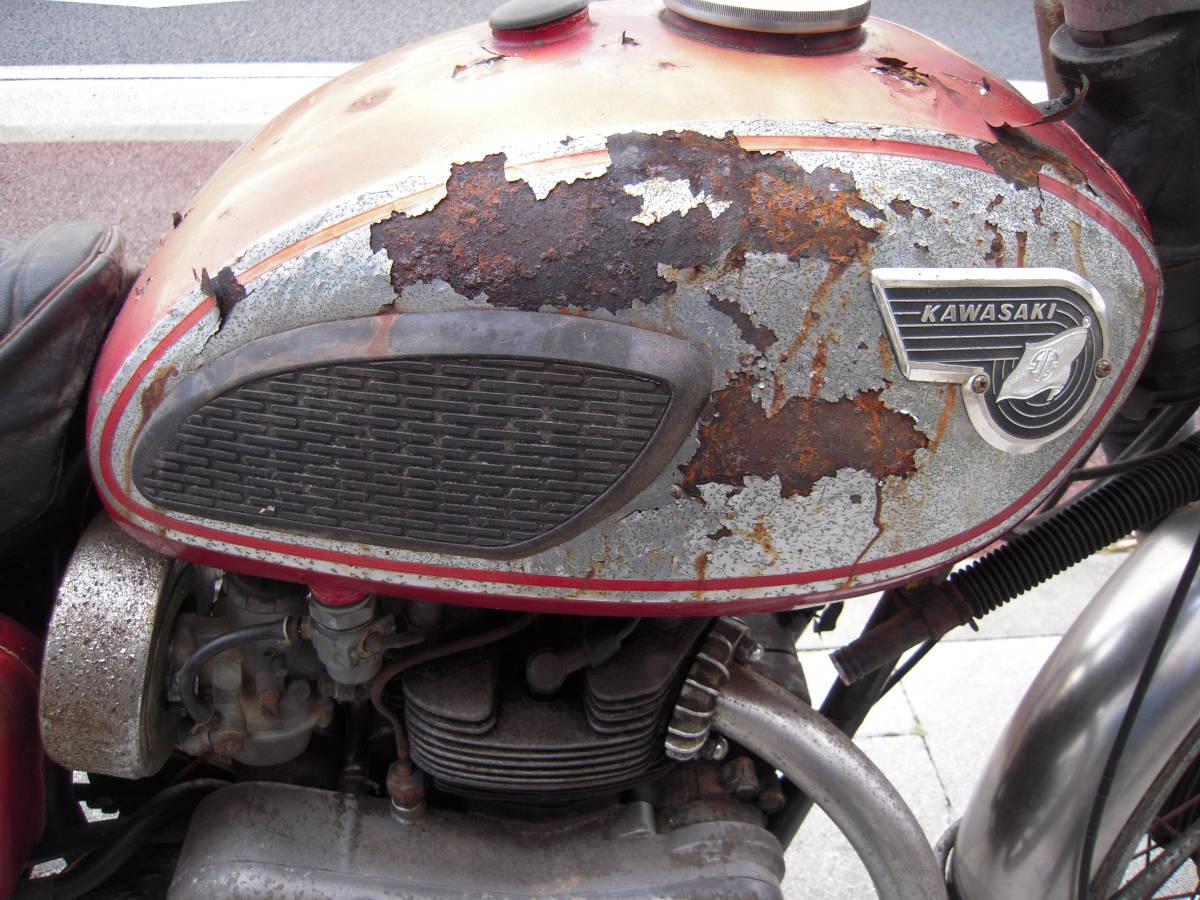 カワサキ W1S後期型 W1SA W3 メグロ _画像7