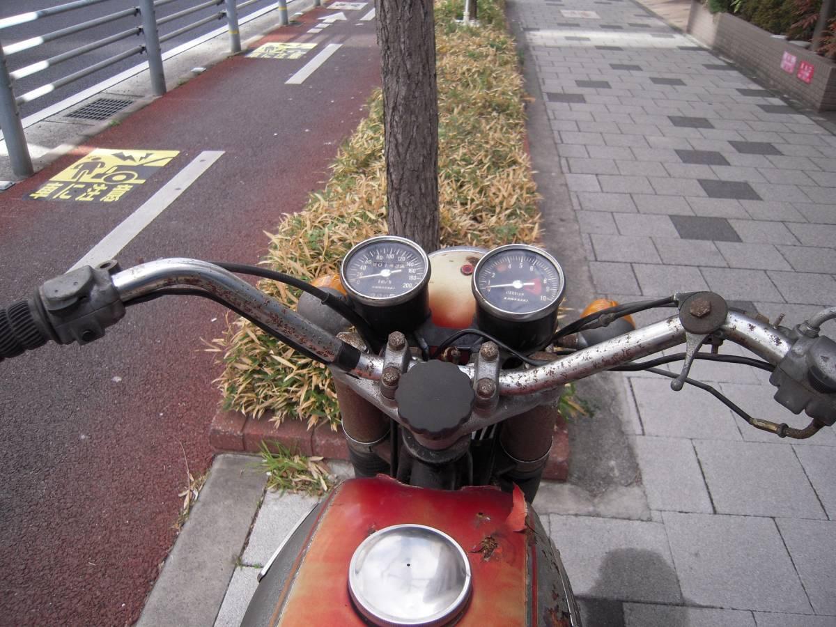 カワサキ W1S後期型 W1SA W3 メグロ _画像8