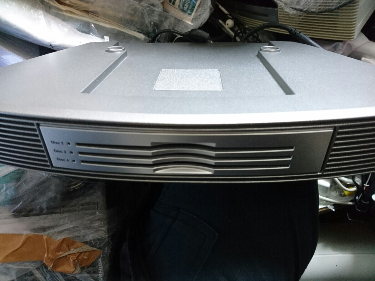 BOSE Wave music system multi CD Changer Accessory body only