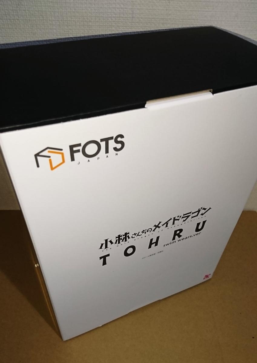 フィギュア FOTS JAPAN 小林さんちのメイドラゴン トール スク水ver 未開封新品_画像2