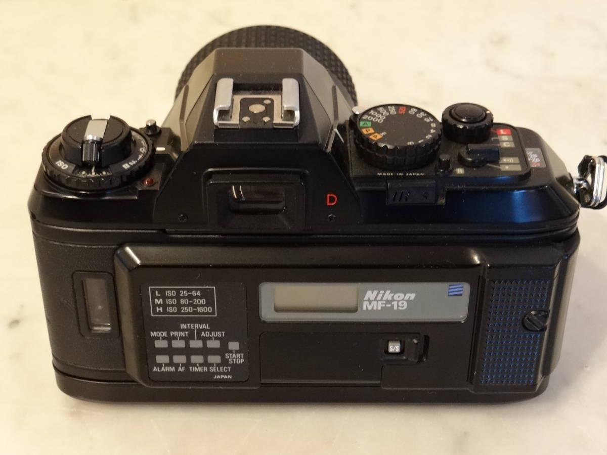 Nikon F-301 使用頻度極めて少ない!正常動作品・ オーバーホール済み・ シャッター正確!  傷なし美品!!_画像2