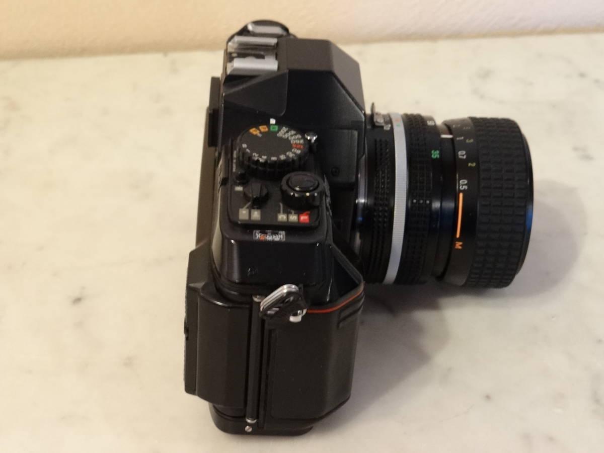 Nikon F-301 使用頻度極めて少ない!正常動作品・ オーバーホール済み・ シャッター正確!  傷なし美品!!_画像3