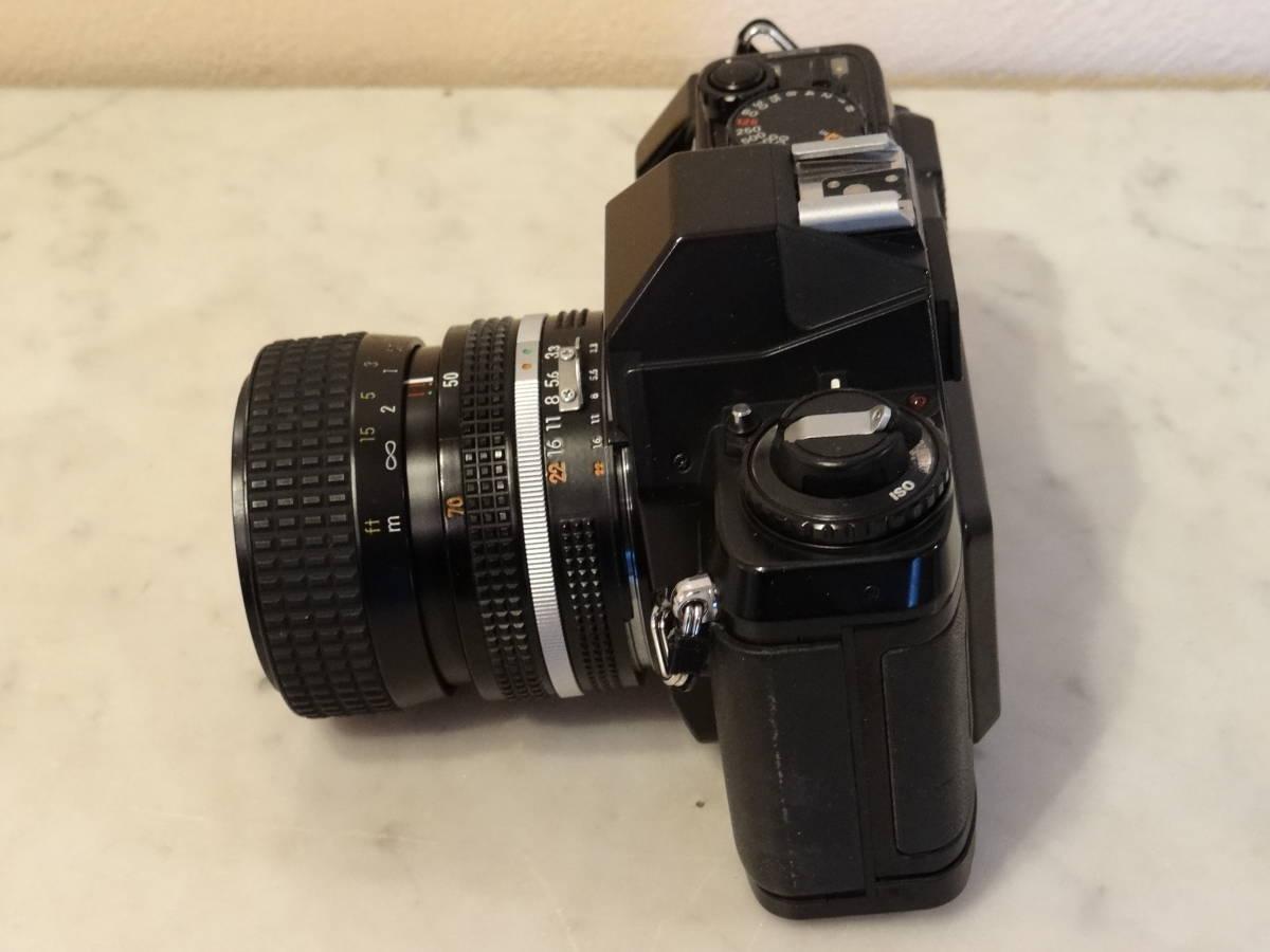 Nikon F-301 使用頻度極めて少ない!正常動作品・ オーバーホール済み・ シャッター正確!  傷なし美品!!_画像4
