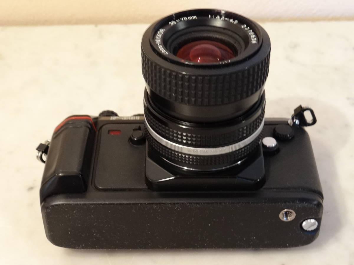 Nikon F-301 使用頻度極めて少ない!正常動作品・ オーバーホール済み・ シャッター正確!  傷なし美品!!_画像5