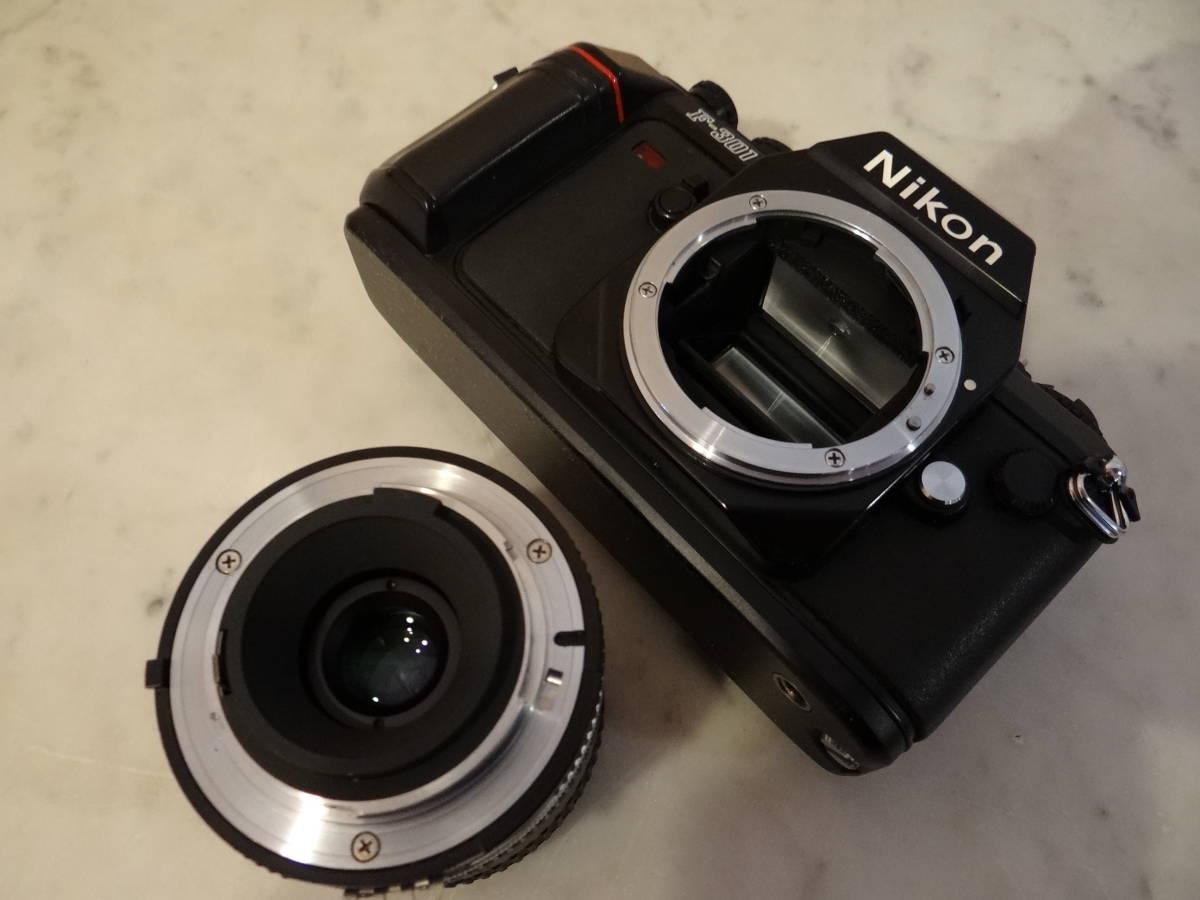 Nikon F-301 使用頻度極めて少ない!正常動作品・ オーバーホール済み・ シャッター正確!  傷なし美品!!_画像7