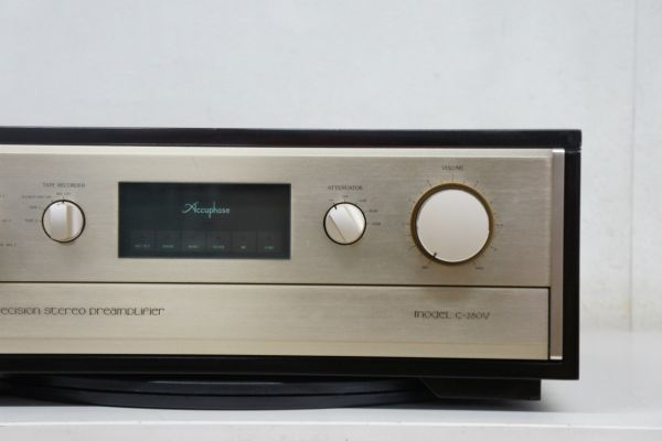 C44014】Accuphase アキュフェーズ C-280V ステレオプリアンプ_画像4