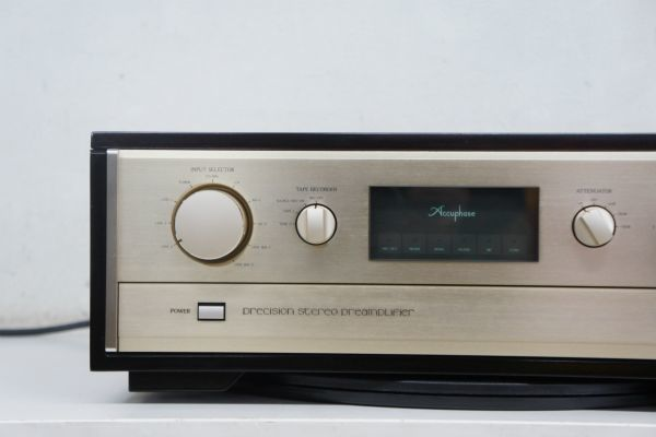 C44014】Accuphase アキュフェーズ C-280V ステレオプリアンプ_画像3