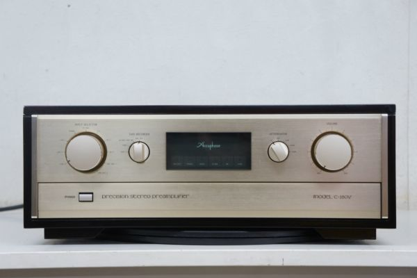 C44014】Accuphase アキュフェーズ C-280V ステレオプリアンプ_画像2