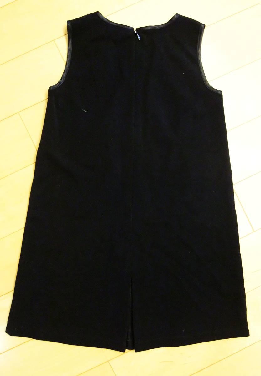 SKIP LAND スキップランド 黒  サイズ110 ワンピース ジャンパースカート フォーマル 発表会 お受験 入学式 卒園式 女の子_画像4