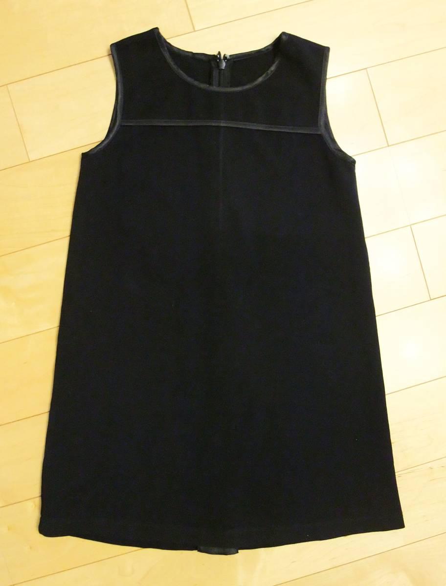 SKIP LAND スキップランド 黒  サイズ110 ワンピース ジャンパースカート フォーマル 発表会 お受験 入学式 卒園式 女の子_画像1