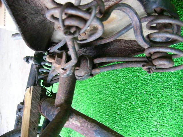 希少? BROOKS ブルックス GENTS B75 MODEL アンティーク レトロ 年代物 三輪車 鉄製 _画像9