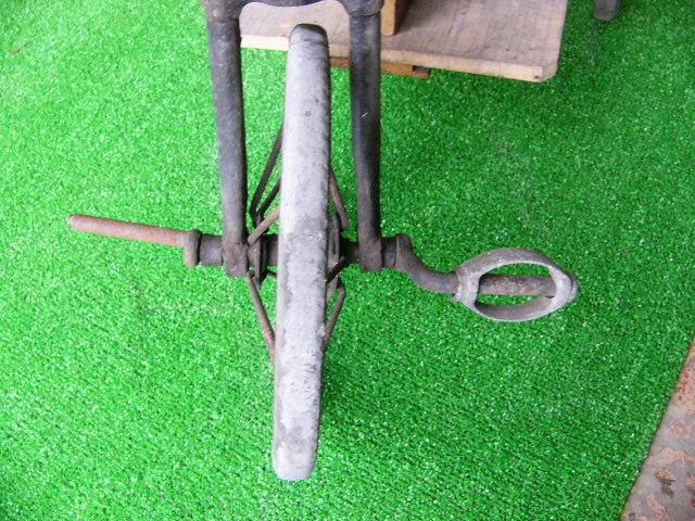 希少? BROOKS ブルックス GENTS B75 MODEL アンティーク レトロ 年代物 三輪車 鉄製 _画像5