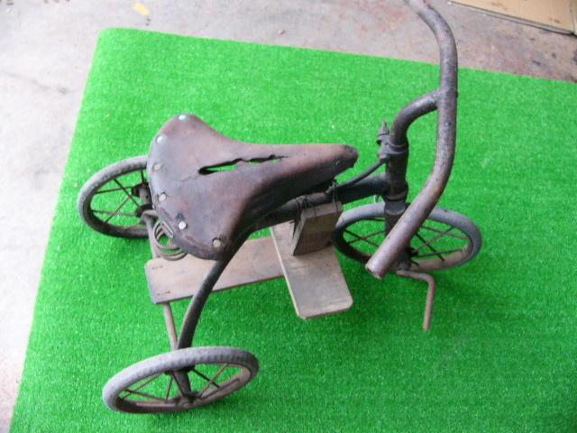 希少? BROOKS ブルックス GENTS B75 MODEL アンティーク レトロ 年代物 三輪車 鉄製 _画像2