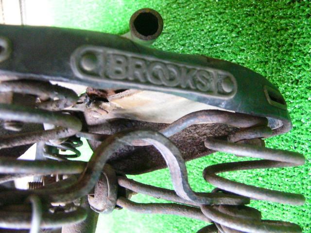希少? BROOKS ブルックス GENTS B75 MODEL アンティーク レトロ 年代物 三輪車 鉄製 _画像8