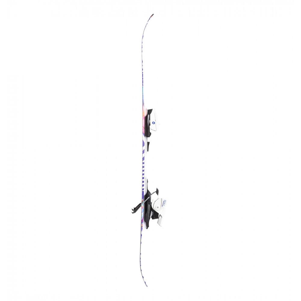ROXY by Salomon ロキシー サロモン キッズ用 スキー板 BELLA C5 ビンディング ROXY C5 J75付 110cm_画像3