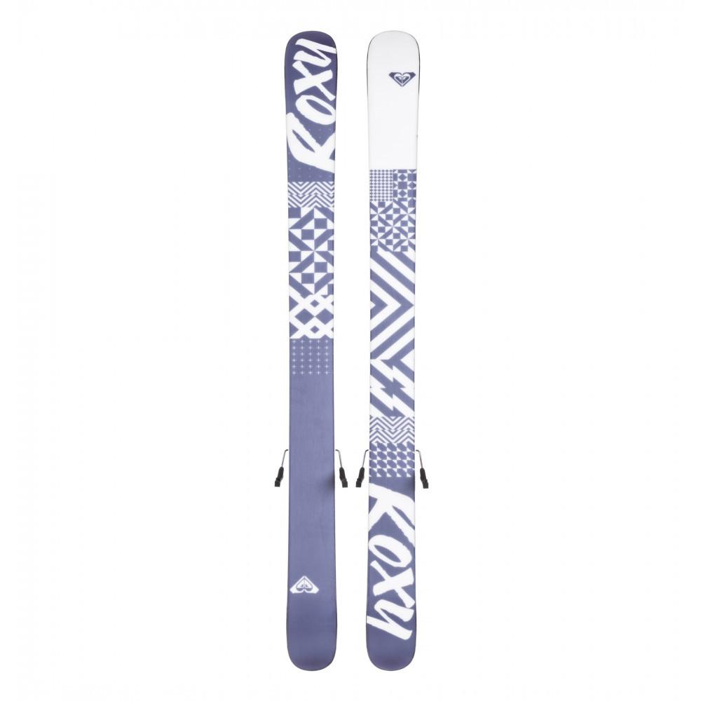ROXY by Salomon ロキシー サロモン キッズ用 スキー板 BELLA C5 ビンディング ROXY C5 J75付 110cm_画像2