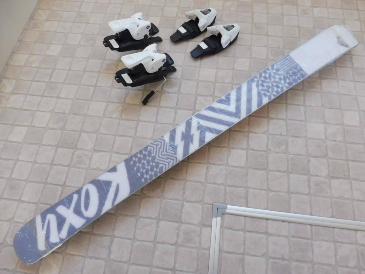 ROXY by Salomon ロキシー サロモン キッズ用 スキー板 BELLA C5 ビンディング ROXY C5 J75付 110cm_画像10