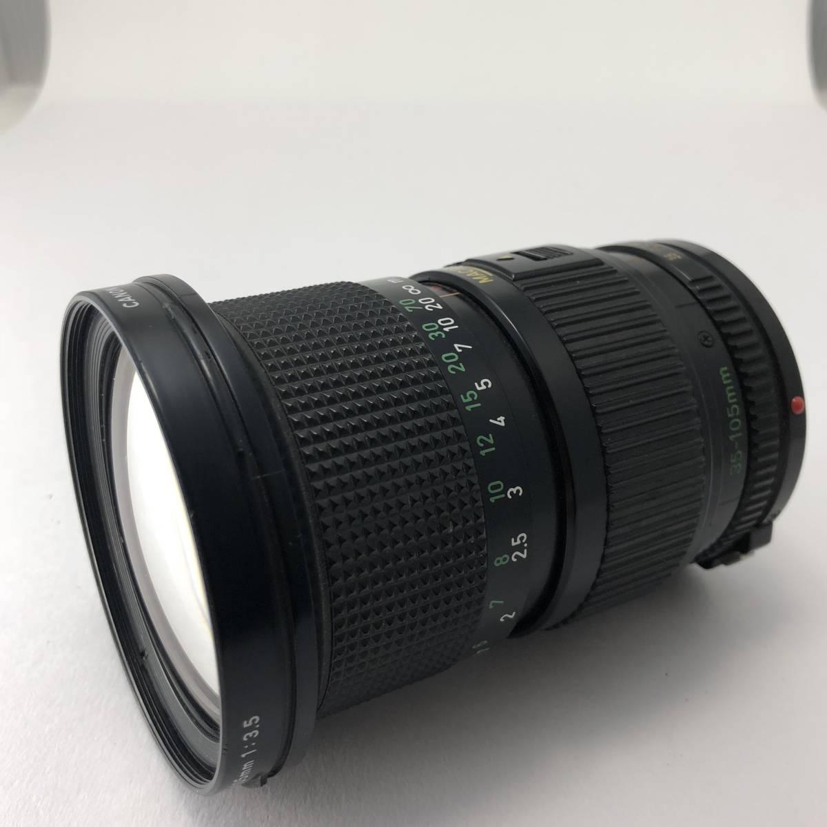 キャノン Canon FTb カメラ FD S.S.C. SSC 50mm 1.4 / FD S.S.C. SSC 24mm 2.8 / FD 35-105mm 3.5 レンズ セット no.A1_画像9