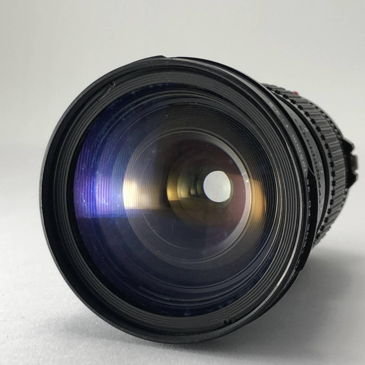 キャノン Canon FTb カメラ FD S.S.C. SSC 50mm 1.4 / FD S.S.C. SSC 24mm 2.8 / FD 35-105mm 3.5 レンズ セット no.A1_画像8