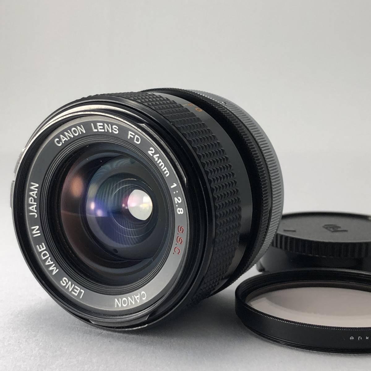 キャノン Canon FTb カメラ FD S.S.C. SSC 50mm 1.4 / FD S.S.C. SSC 24mm 2.8 / FD 35-105mm 3.5 レンズ セット no.A1_画像6