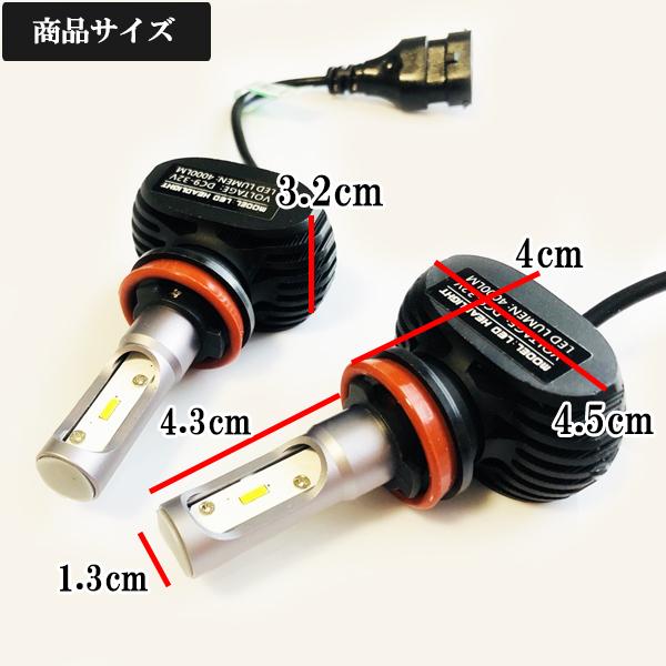 ホンダ◆爆光 LEDフォグランプ 6500k ホワイト H8/H11-H16 規格◆CR-V H23.12~ RM1.2 専用_画像3
