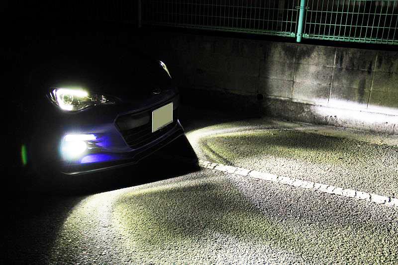 三菱◆爆光 LEDフォグランプ 6500k ホワイト H3 規格◆タウンボックス H12.11~ U6#W 専用_画像4