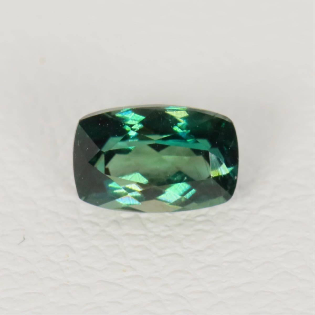 高品質『天然グランディディエライト』0.34ct マダガスカル産 ルース 宝石 コレクター必見 超稀少な深緑 レアストーン