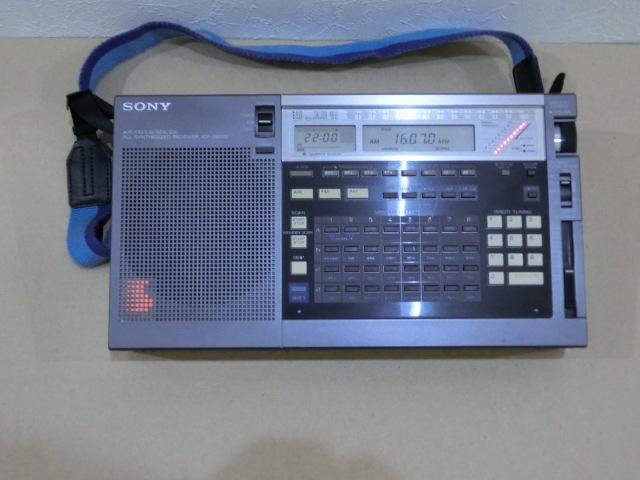 SONY マルチバンドレシーバー ICF-2001D 修理再生品 受信良好 ☆1円スタート_画像3