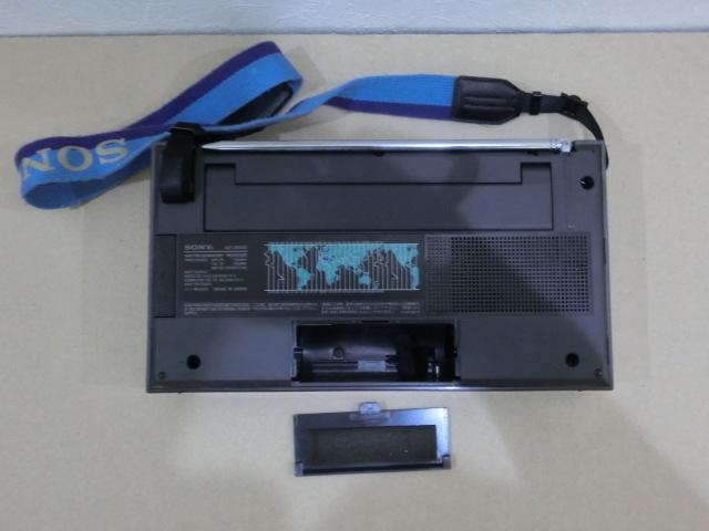 SONY マルチバンドレシーバー ICF-2001D 修理再生品 受信良好 ☆1円スタート_画像8