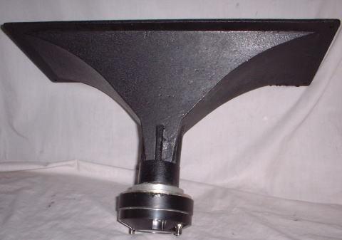大口径452mmX183mm,ダイカストホーンツィーター新品2本組_画像5