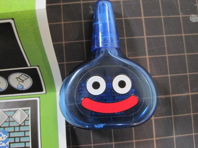 ロート製薬 ロート目薬 ロートジー スライムボトル 青 ドラゴンクエスト  ボトルのみ  箱付き
