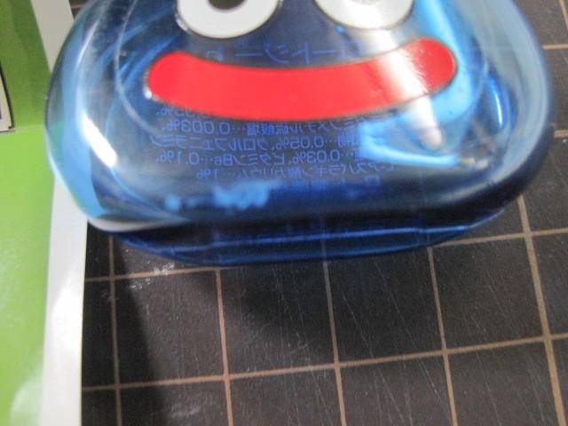 ロート製薬 ロート目薬 ロートジー スライムボトル 青 ドラゴンクエスト  ボトルのみ  箱付き _画像2