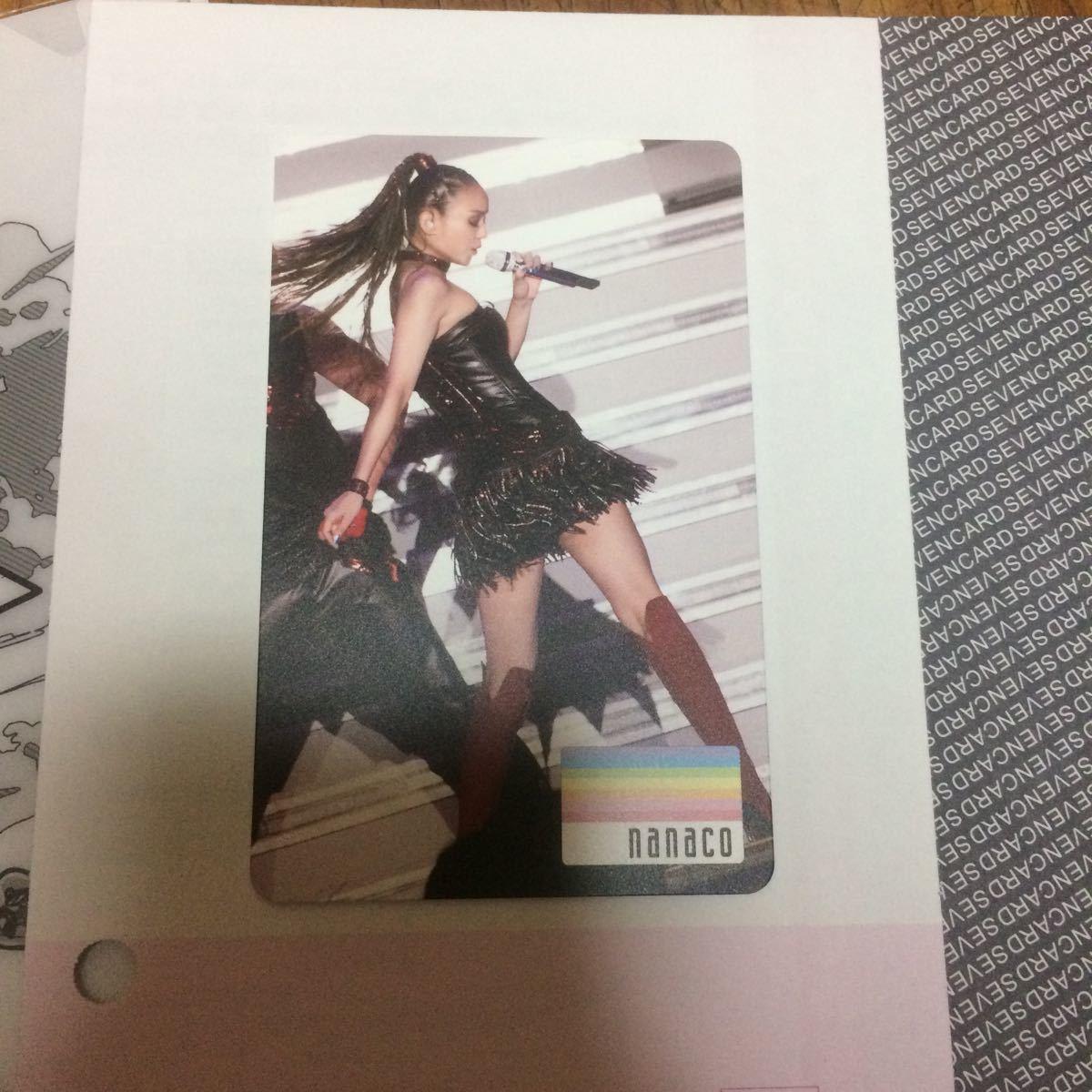 安室奈美恵 nanacoカード&ONE PIECE ミニファイル_画像2