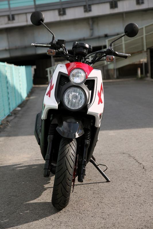 Yamaha BW`s125 X YW125X ビーウィズ 台湾ヤマハ リアキャリアー付き 安心のノーマル デジタルメーター 極上品_画像3