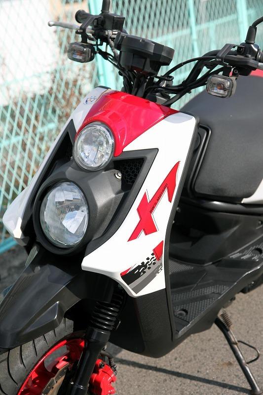 Yamaha BW`s125 X YW125X ビーウィズ 台湾ヤマハ リアキャリアー付き 安心のノーマル デジタルメーター 極上品_画像4