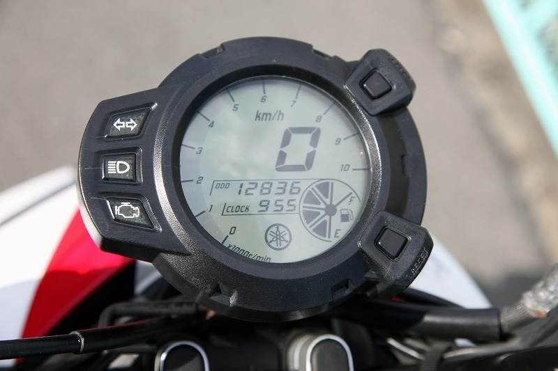 Yamaha BW`s125 X YW125X ビーウィズ 台湾ヤマハ リアキャリアー付き 安心のノーマル デジタルメーター 極上品_画像5