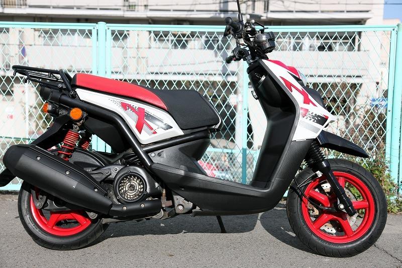Yamaha BW`s125 X YW125X ビーウィズ 台湾ヤマハ リアキャリアー付き 安心のノーマル デジタルメーター 極上品