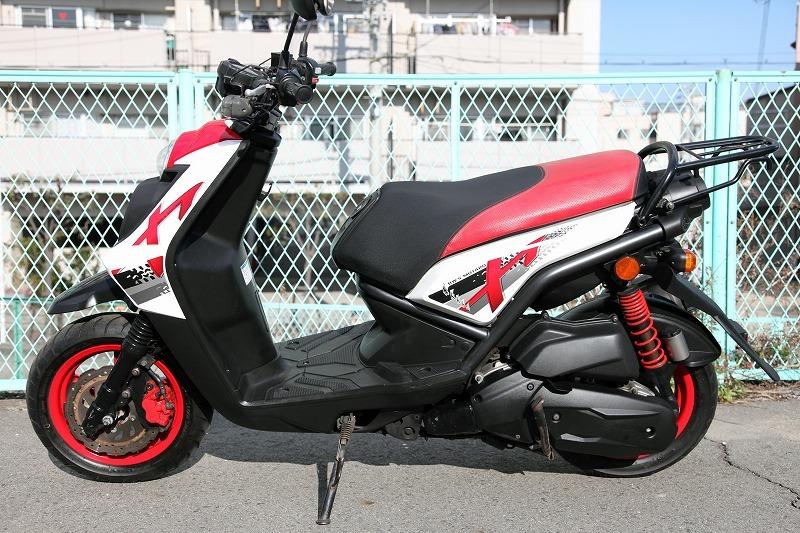 Yamaha BW`s125 X YW125X ビーウィズ 台湾ヤマハ リアキャリアー付き 安心のノーマル デジタルメーター 極上品_画像2