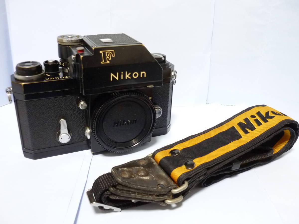 Nikon ニコン F フォトミック T ブラック シリアル#705万 一眼レフ カメラ マニュアル MF (一応ジャンク扱)