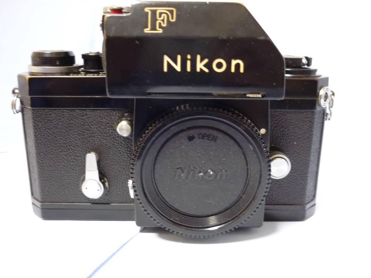 Nikon ニコン F フォトミック T ブラック シリアル#705万 一眼レフ カメラ マニュアル MF (一応ジャンク扱)_画像2