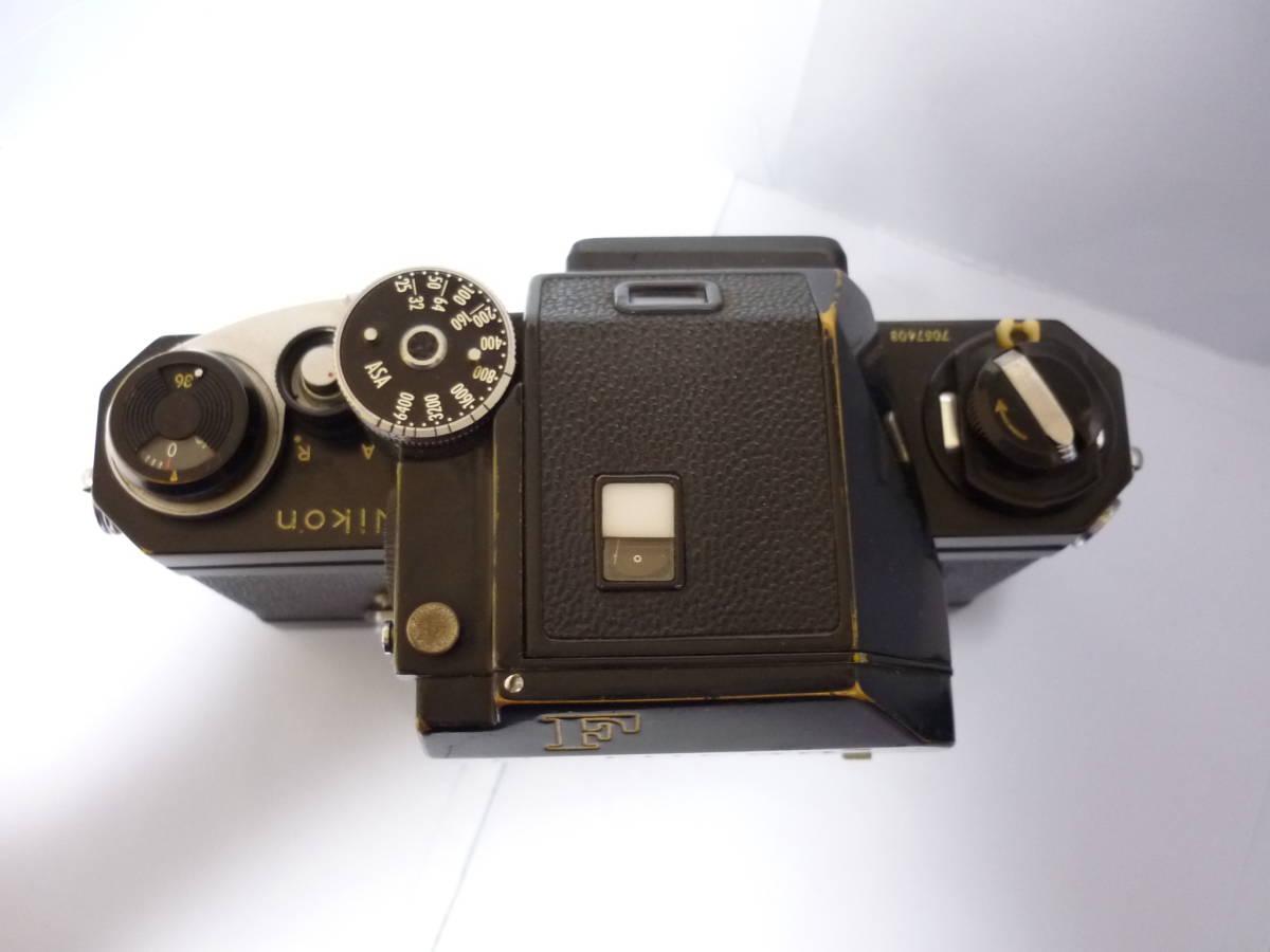 Nikon ニコン F フォトミック T ブラック シリアル#705万 一眼レフ カメラ マニュアル MF (一応ジャンク扱)_画像3