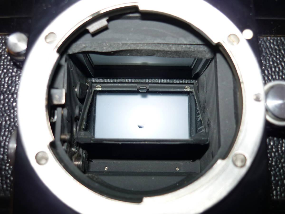 Nikon ニコン F フォトミック T ブラック シリアル#705万 一眼レフ カメラ マニュアル MF (一応ジャンク扱)_画像5