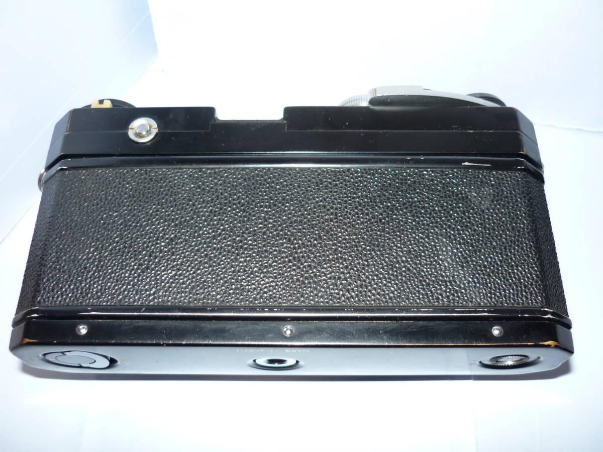 Nikon ニコン F フォトミック T ブラック シリアル#705万 一眼レフ カメラ マニュアル MF (一応ジャンク扱)_画像8