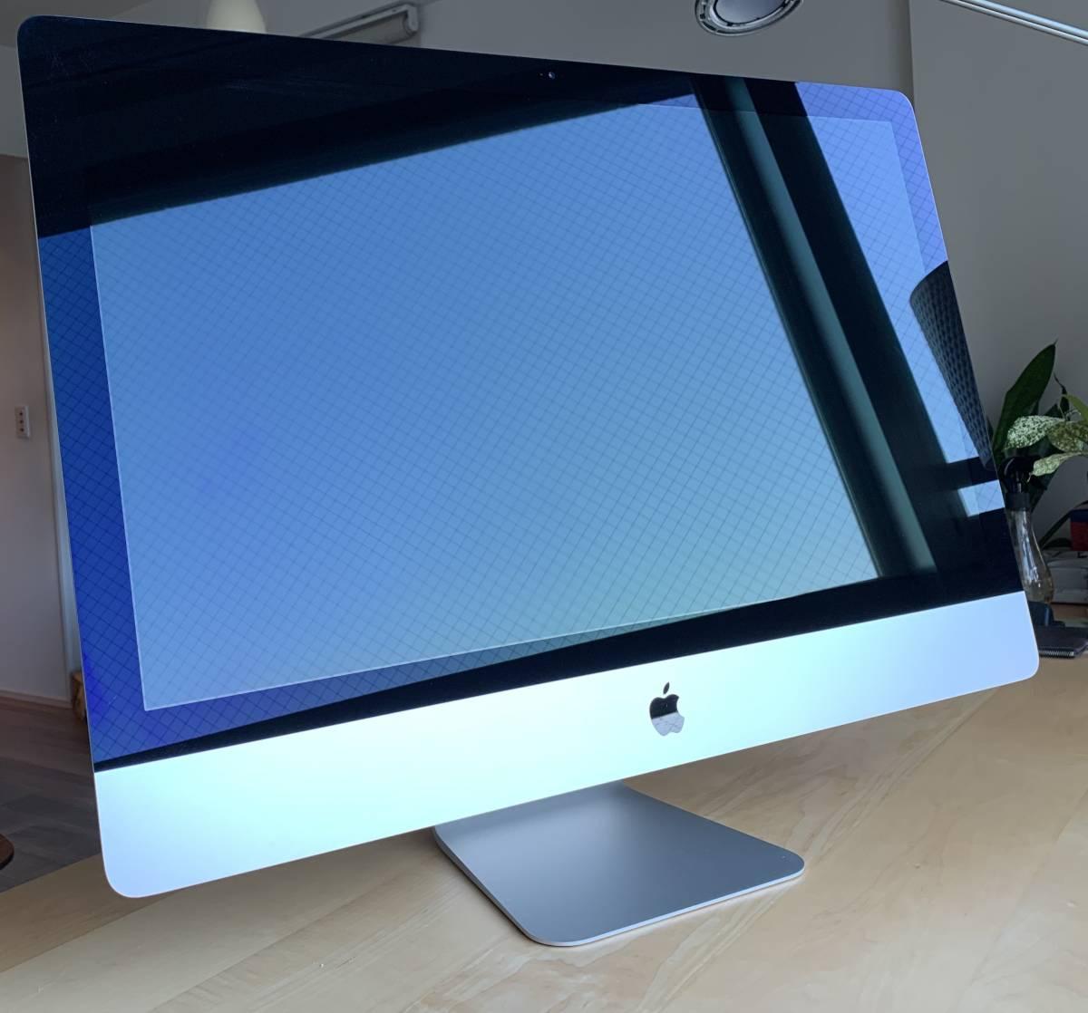 【美品】【送料無料】 iMac Retina 5K 27インチ/i5 3.2GHz/メモリ 16GB/SSD 256GB/Magic Trackpad 2/Magic Keyboard