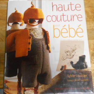 G1926☆【洋書 フランス語】Haute couture pour bb Sylvie Loussier 子供服☆